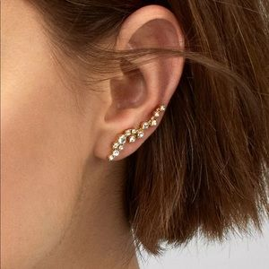 - Baublebar Gold Tone earrings new NWT